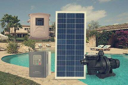 Bombas solares piscinas